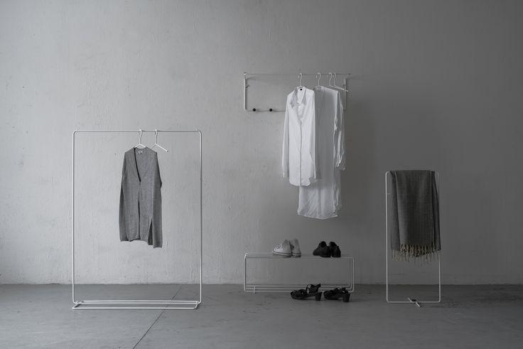 Tapio Anttila Collection – Mixrack clothes racks, coat rack, shoe rack