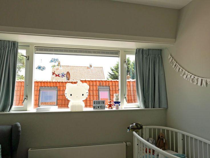 Home Tour: De babykamer (+ winactie: BaseNL Hello Kitty lamp) http://karenz.nl/home-tour-de-babykamer/