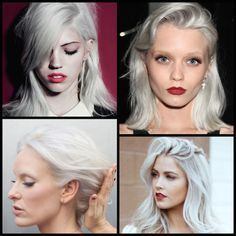 Hair Color Inspiration & Formulation: Silver White