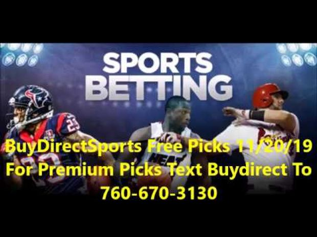 3 Free Sports Picks 11 20 19 Free Sports Picks Sports Picks Free Sport