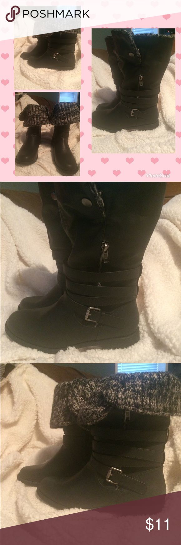 New JustFab Jordan boots New without tags, never worn, size 8.5  Jordan boot.  Super cute. JustFab Shoes Ankle Boots & Booties