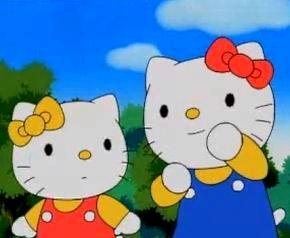 """How many of you guys knew Hello Kitty used to be a show in the 90s? I remember watching """"Hello Kitty A Storybook Adventure"""" early morning on the Disney channel before I went to school. Loved watching Kitty, her twin sister Mimmy and all the other random Sanrio characters. Loved Hello Kitty ever since."""