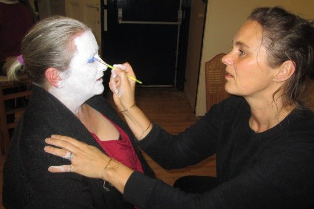 In make up!