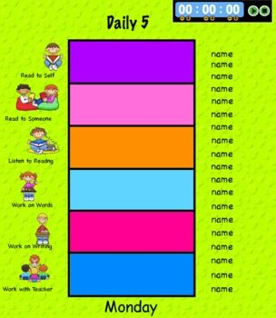 Free: Daily Five Assignments Interactive Promethean Board: Future Classroom, Ideas, Daily Five, Classroom Stuff, Promethean Boards, Activities Inspiration, Boards Daily, Assignments Interactive, Teacher Notebooks