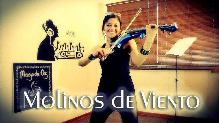 MOLINOS DE VIENTO 🐮 en VIOLIN ELECTRICO!! (Mago de Oz).. Genial!!