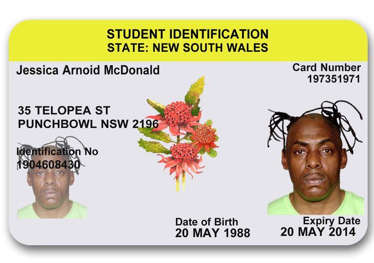 NSW novelty ID card #novelty #noveltyid #fakies