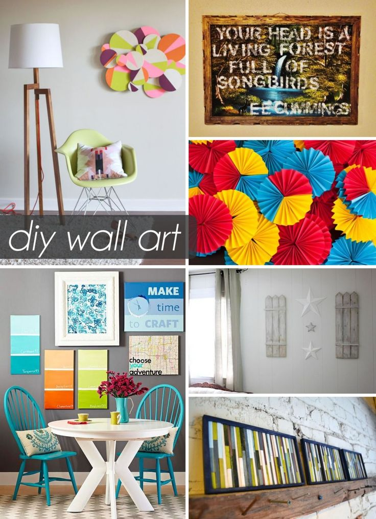 Decorations : Diy Wall Art With White Pendant Lamp Also Blue Chair And Green Chairs Besides Artwork A Bold Statement Of One's Character Living Room Decoration Ideas On A Budget. Beach House Decorating Ideas On A Budget. The Room Theme To Accentuate Its Beauty.