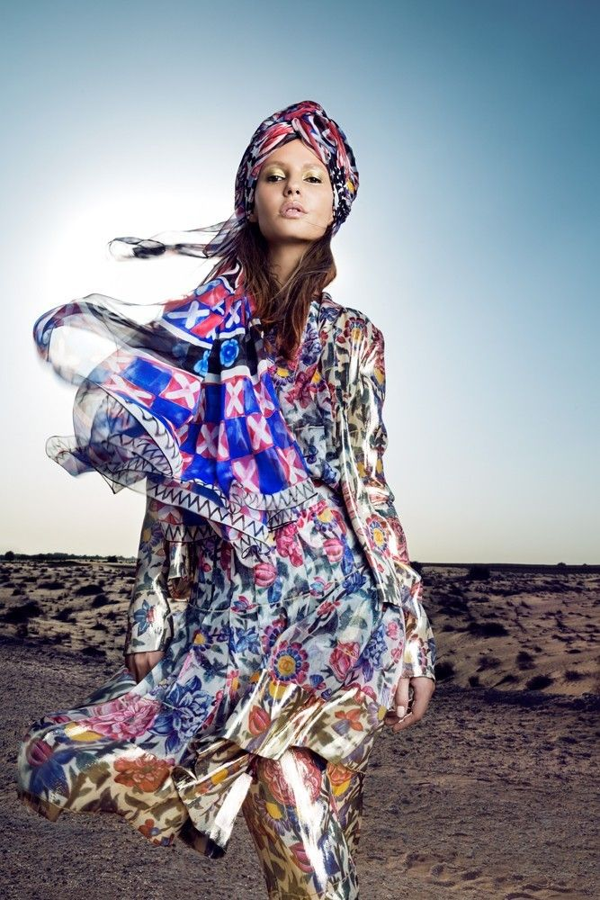 Vivienne Balla: Chanel Advertorial (Emirates WomanFashion Photography)