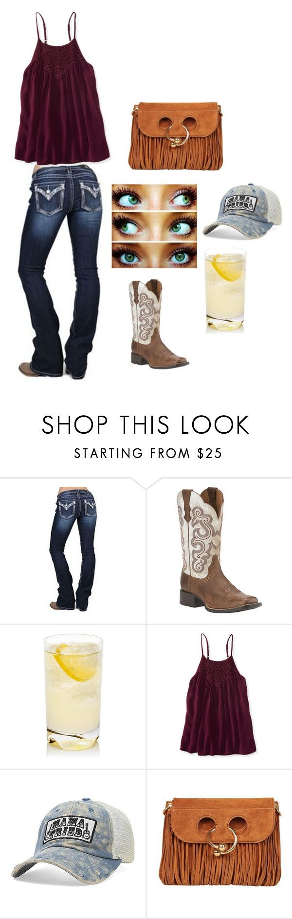 """Mama Tried"" by itsyagirlhar on Polyvore featuring Miss Me, Ariat, Aéropostale, Junk Gypsy and J.W. Anderson"