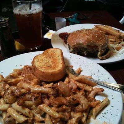 Cheddar's New Orleans Pasta @keyingredient #cheese #chicken #cheddar #shrimp
