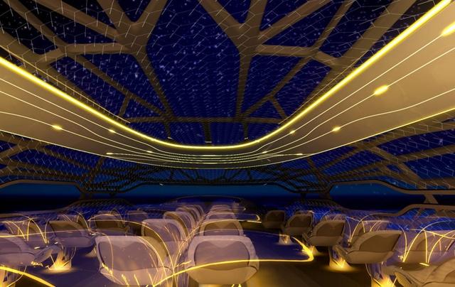 Transparent Airplane Cabins