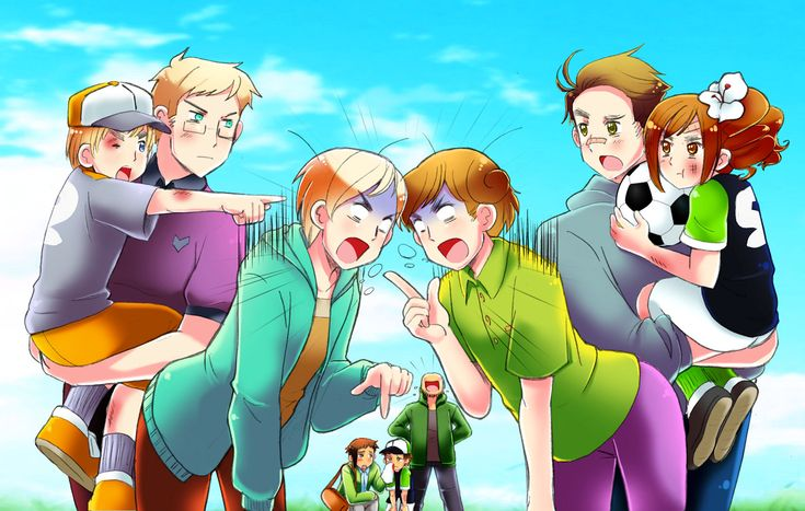 Lemme guess..... from left to right: Sealand, Sweden, Finland, in the middle is a random family, I don't know who that is(possibly New Zeland?), Australia, and Wy.