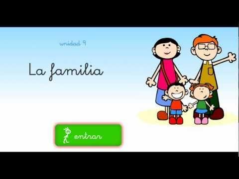 Aprendemos los miembros de la familia con pelayo y su pandilla - YouTube