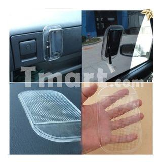 Stylish Silicone Car Anti-Slip Mat Transparent White