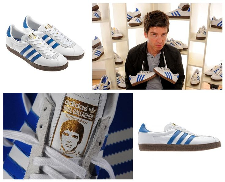 "On October 17, 2011, coinciding with the release of Noel Gallagher's High Flying Birds album, Noel teamed up with Adidas to release 200 pairs of his signature ""NG 72″ Adidas trainer based off the old Adidas ""Training 72″ shoe. Noel who has won numerous awards throughout his career seems more intrigued and honored by having his signature Adidas shoe, saying, ""to have my name put to a pair is truly mind-blowing."""