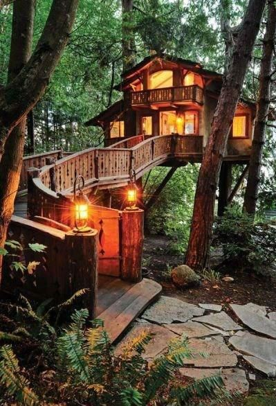 This isn't your kids treehouse....