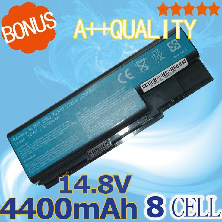 4400mAh 14.8V Battery For Acer Aspire 8730 8730G  8930G 5230 5320 5520 5535 5710 5710Z 5715Z  5920 5935 5942 6530G 6920
