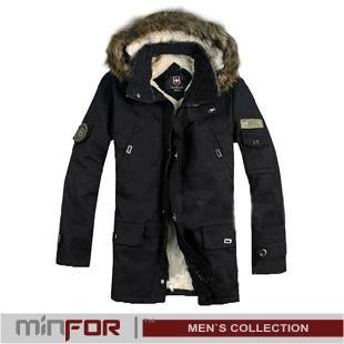 Осень зима куртки пальто мужские