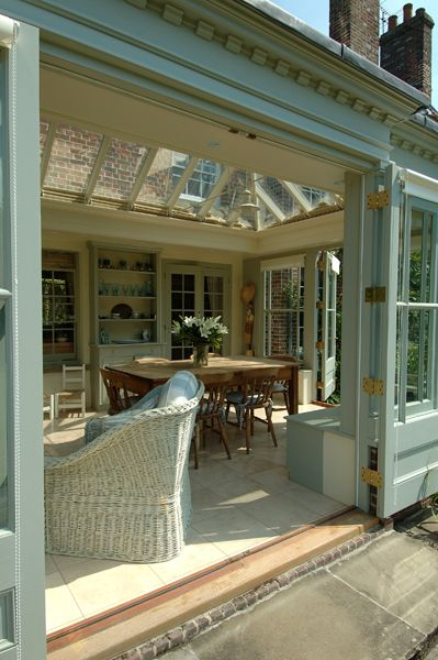 Orangeries: Bespoke Orangery #2. How fab is this?!