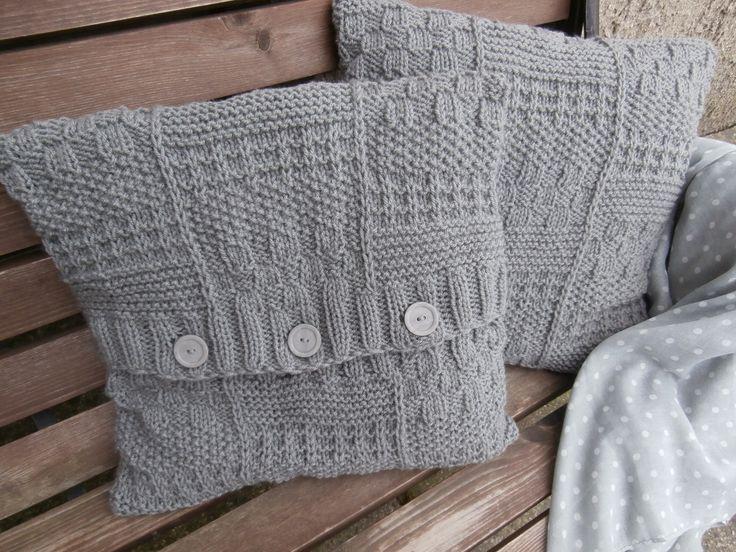 Polštáře pletené