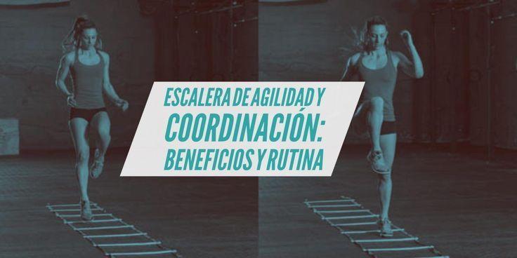La escalera, es una de los medios con la que el corredor puede trabajar para mejorar su agilidad, velocidad y coordinación.