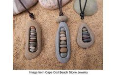 Drill rocks to make jewelry