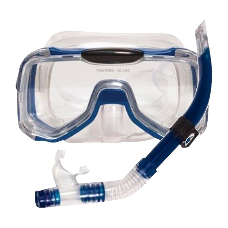 Poolmaster Mondeo Pro Swim Mask and Snorkel Set,