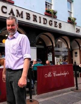 'My insurance rose to €102k as a result of claims' Eoin McCambridge pictured outside his business in Galway