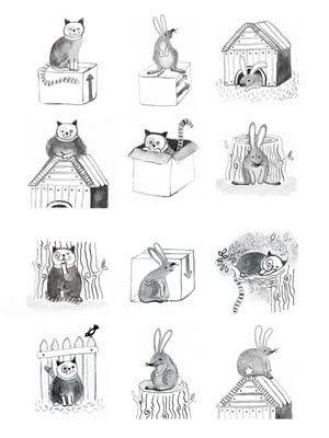 Voorzetsels met dieren
