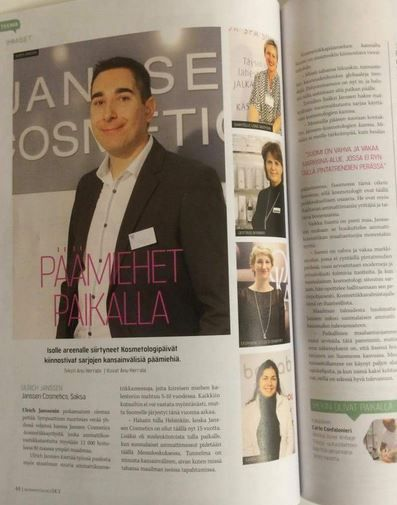 Sky Magazine in Finland published an interview with Ulrich Janssen