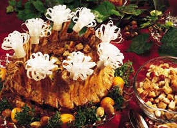 Check out Crown Roast of Pork with Apple-Cranberry ...
