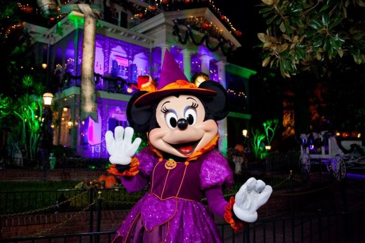 Many characters have special costumes for the Disneyland Halloween Party.
