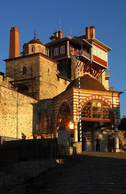 The Monastery of Vatopedi, Mount Athos