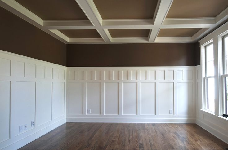 Compton Homes in AL using WindsorONE S4SSE for coffered ceiling & wainscoting.