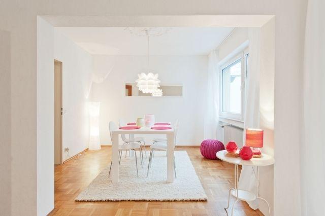25 best ideas about salle a manger blanche on pinterest - Suspension salle a manger design ...
