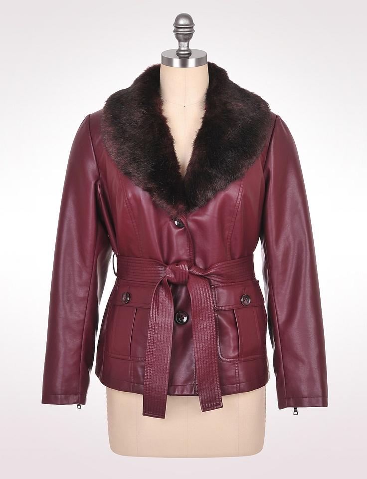 Women's Jackets & Outerwear Faux Leather Jackets