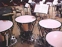 Tympán nebo tympány (česky též kotel, kotle) je rytmický blanozvučný bicí nástroj v symfonickém orchestru (slovo je odvozeno z italského výrazu timpano; má původ v antické řečtině, i když ne zcela synonymický). Skládá se z kůže (hlavně telecí nebo kozí) napnuté na měděné polokouli, přičemž se do kůže tluče paličkami. V dnešní době se místo kůže používají i plasty.