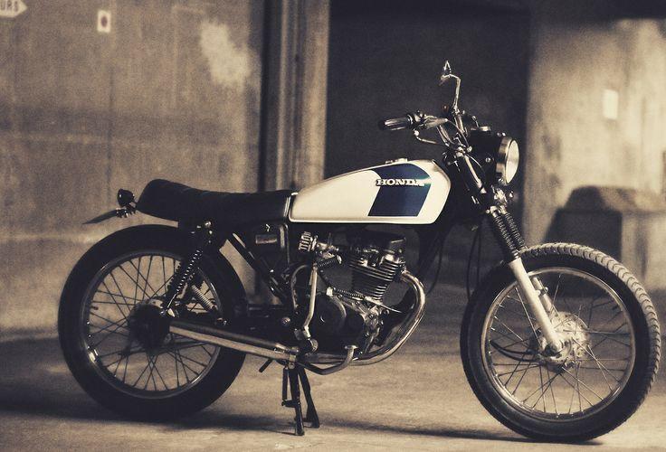Cafe Racer Design Source Honda CG125 @Matt Valk Chuah Official Cafe Racer Design