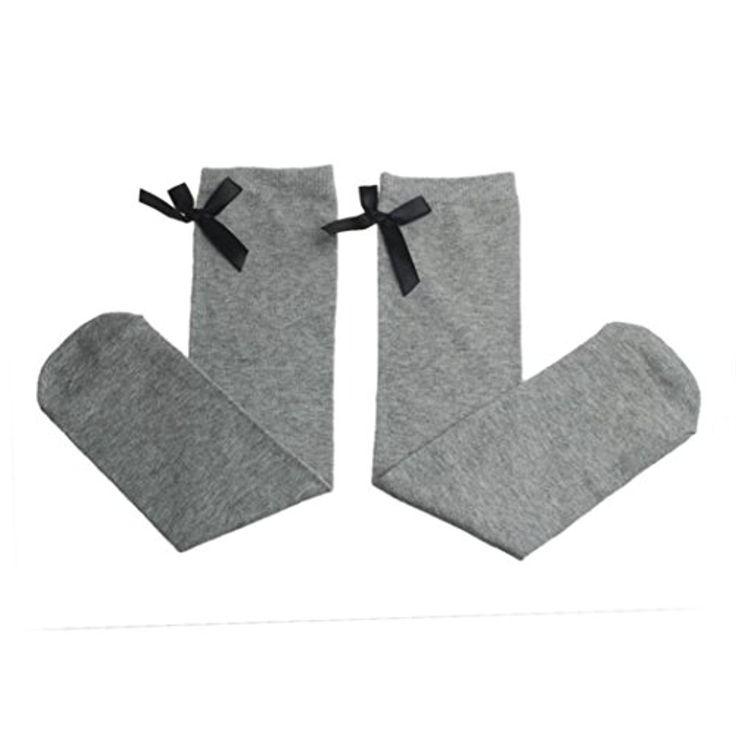 Wensltd Baby Girl Rainbow Color Kneepad Socks Winter Leg Warmer