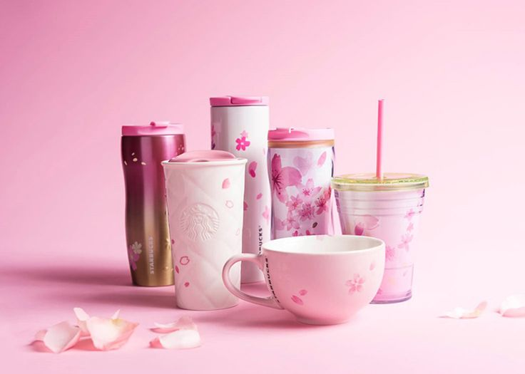 Pretty in Pink (Sakura Collection) | Starbucks Coffee Company | Feb 2015