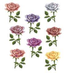 One Rose cross stitch pattern.