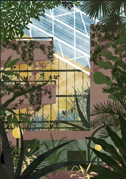 The Barbican has the second largest conservatory in London, packed with plants and cacti, originally built to wrap around, and disguise, the theatre fly-tower.
