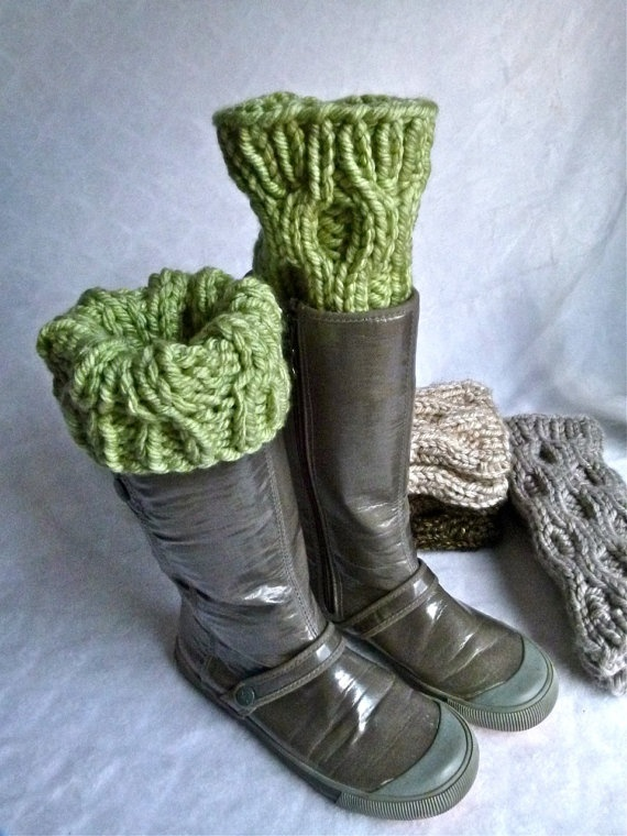 soft green wellie wonders ($40), and I love the boots!!