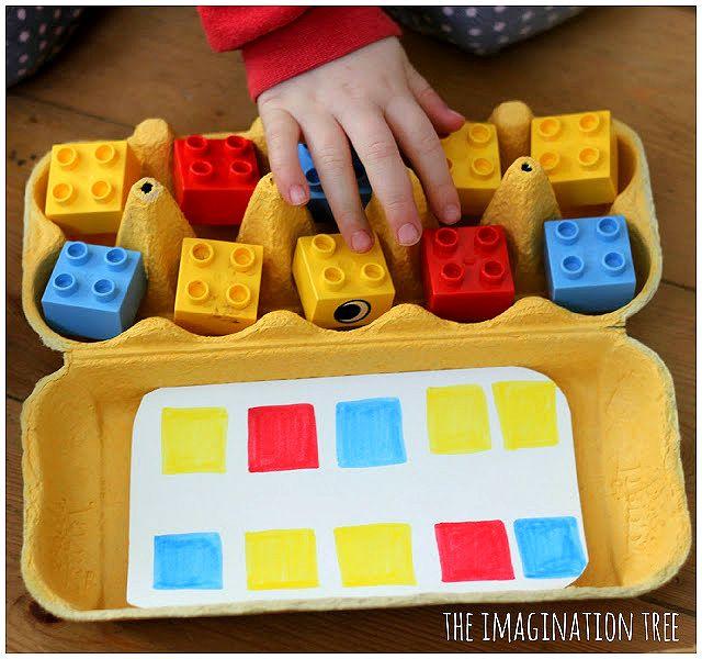 Pra Gente Miúda: Como trabalhar com caixa de ovos na sala