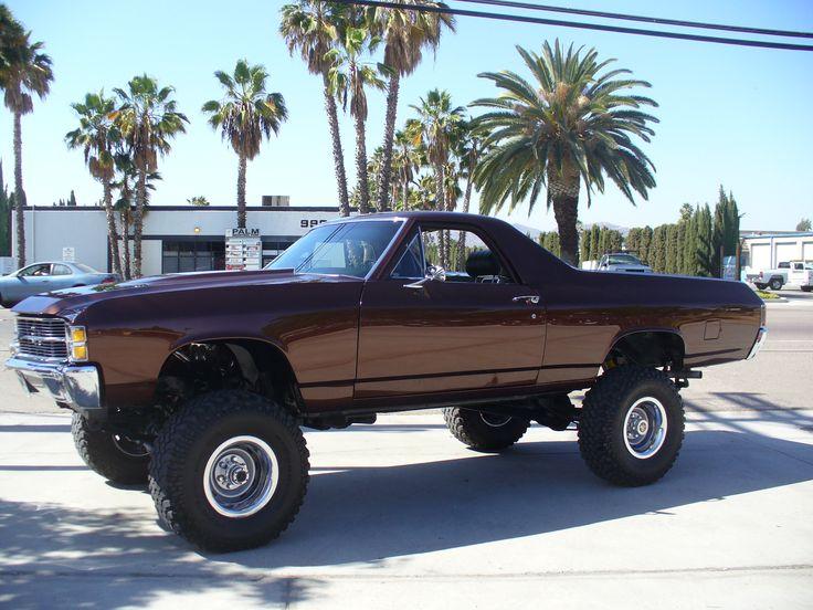 1971 Chevy El Camino 4x4 Portfolio | SoCal Paint Works | Automotive Restoration