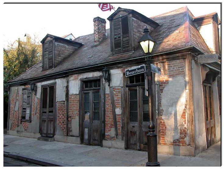 Jean Lafitte's Blacksmith Shop, New Orleans..He was a very close friend of my great, great grandfather's..maybe one more great: Lafitte Blacksmithing, New Orleans, Building, Nawlin, Blacksmithing Shops, How, Shops Bar, Jeans Lafitte, Lafitt Blacksmithing