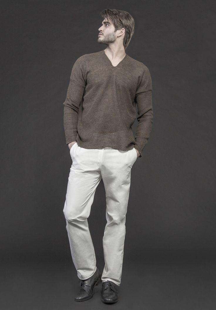 Men's sweater #PANTHEIST #CAVEINcollection #menswear pantheist.co