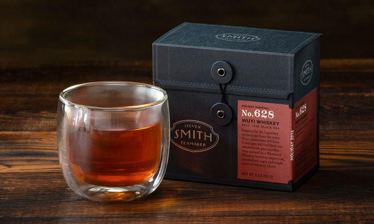 Whiskey and Brandy Barrel Aged Teas