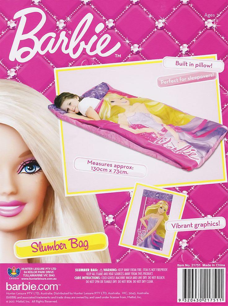Barbie Slumber Bag from Funstra Toys