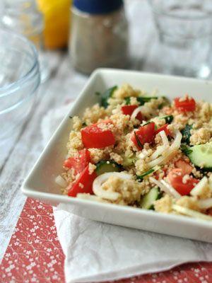 Kuszkuszos saláta | Laktózérzékenység, laktózintolerancia, tejcukor érzékenység, tejallergia